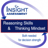 Strong reasoning skills and thinking mindset are needed for decision strength. Insight Assessment
